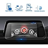 2017 2018 Mazda CX-5 KF Series MZD LFOTPP Connect GPS Car Display Navigation Tempered Glass Screen Protector [High Clarity] Center Touch Protective Film Anti Scratch