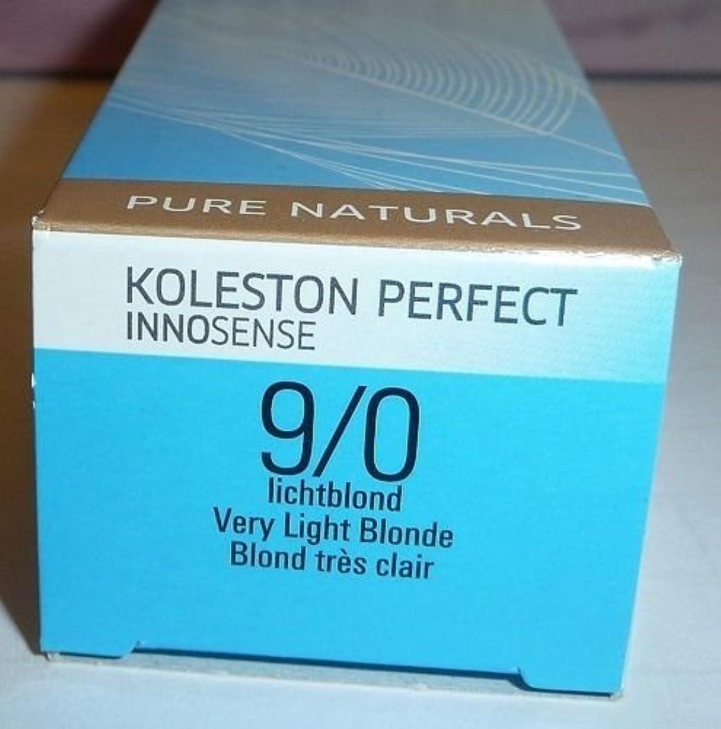 永久ティーンエイジャー疾患Wella Koleston Perfect INNOSENSE Hair Color Very Light Blonde 9/0 2 oz by Wella [並行輸入品]