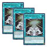 【 3枚セット 】遊戯王 英語版 BLLR-EN076 Miracle Contact ミラクル・コンタクト (ウルトラレア) 1st Edition