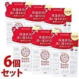 《セット販売》 ライオン ハダカラ hadakara ボディソープ フローラルブーケの香り つめかえ用 (360mL)×6個セット 詰め替え用