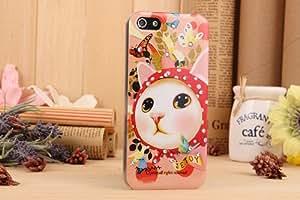 猫ちゃん/iphone5/5S用ケース /IPC5-13050807