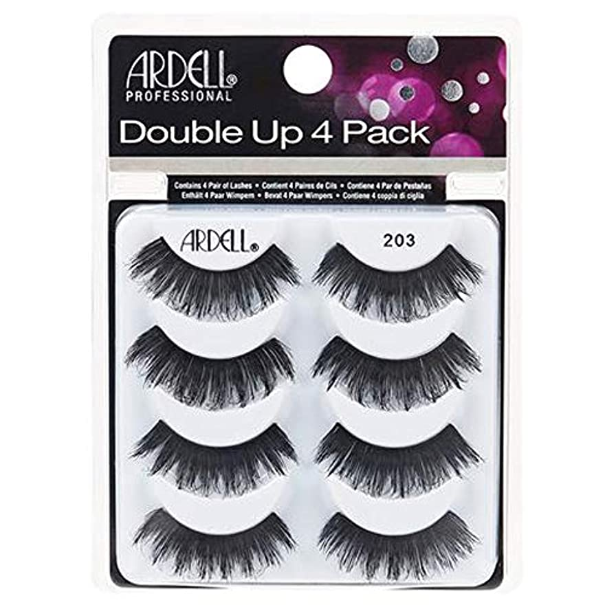 現象粘り強い人類Ardell Double Up 4 Pack Lashes - 203