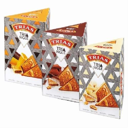 トリアス(TRIAS)トライアングル チョコ ウエハース 3種セット 【スペイン 海外土産 輸入 スイーツ 】