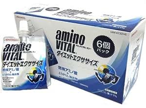 アミノバイタル ゼリードリンク ダイエットエクササイズ 180gX6個