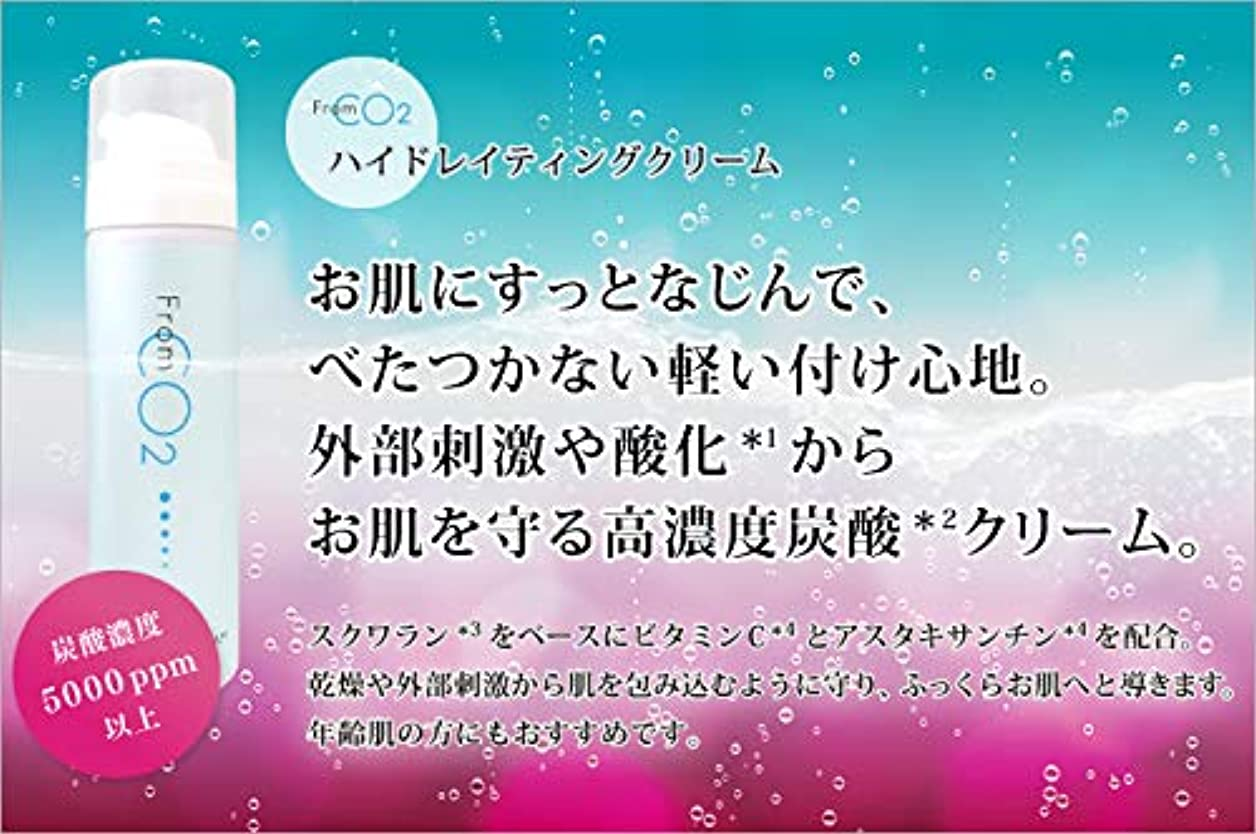 罪悪感コンドームサイズフロムCO2 ハイドレイティングクリーム 40g
