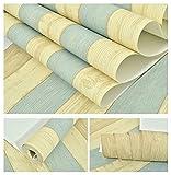 3world アンティーク 地中海風 シール式 壁紙 45cm幅 SW511 カラフルウッド