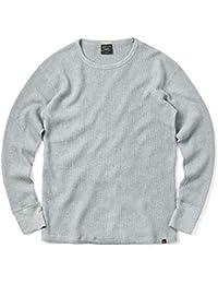 ALPHA アルファ TC1321 L/S ワッフル 長袖 クルーネック Tシャツ