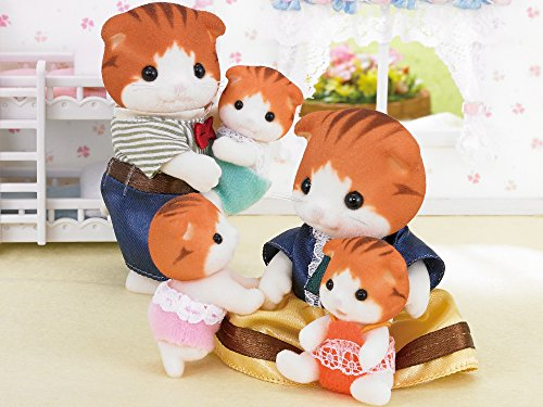 Sylvanian Families Calico Critters Ni-102 Dolls maple cat twins baby 29601 JAPAN