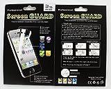 iPhone5(2012年発表モデル)用 Professional Screen GUARD 'Crystal Clear, Anti-Glare Protection' クリスタル・クリアー反射防止保護フィルム(アンチグレア) AKB-IP5PSGAG