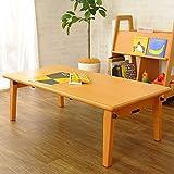 大和屋 フレジー キッズテーブル ブラウン F380 丈夫なつくりの業務用家具シリーズ