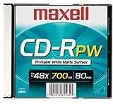 Maxell 648721 700mb 80 48x Single Printable Matte [オンデマンド(CD-R)]