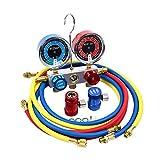 AutoRocking A/C 診断マニホールドゲージキット エアコン冷媒マニホールドゲージ R1234YF用 ブルー 0459AR303064Rocking-07