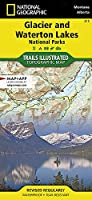 National Geographic Trails Illustrated Map Glacier / Waterton Lakes National Parks: Montana, USA / Alberta, Canada / Gps Compatible