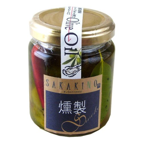 広島産 牡蠣の燻製 オリーブオイル漬け100g 瓶詰【SAKAKINO】