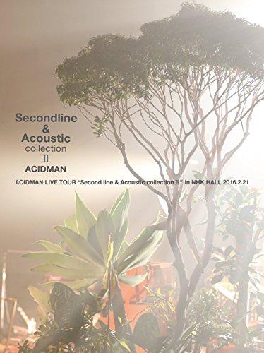 """[画像:ACIDMAN LIVE TOUR""""Second line & Acoustic collection II""""in NHKホール(初回限定盤) [Blu-ray]]"""