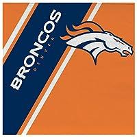 NFL デンバー・ブロンコス 使い捨てペーパーナプキン 20枚パック