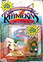 RhymekinsシリーズI ~ The Tortoise and the Hare ~クラシックFairy Tales Collectables ( 1988) Figures with Color Illustrated Storybook