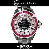 シャネル CHANEL J12 世界限定12本 H1748 全面ダイヤ・ルビー文字盤 メンズ 腕時計 【中古】