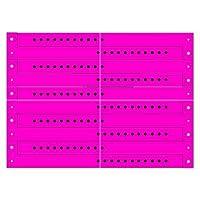 ビニールWristbands、ネオンピンク、( 1ボックスof 500) by ClubKing Ltd