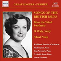 Songs of the British Isles (Ferrier) by Kathleen Ferrier (2006-08-01)
