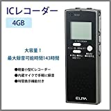 ELPA(エルパ) ICレコーダー4GB ADK-ICR500 1775300