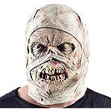ハロウィンマスクゾンビラテックス流血怖い嫌なフルフェイスマスク衣装パーティーコスプレプロップ用キッズ大人ファンシードレス仮装パーティーコスプレ