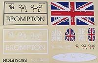 BROMPTON 12pc用ステッカーセットビニールデカール Sticker Set For BROMPTON 12pc STICK-SET