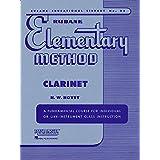 RUBANK ELEMENTARY METHOD CLARINET