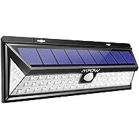 Mpow ソーラーライト センサーライト 54led 人感センサー 3つ点灯モード 防水 屋外防犯ライト 自動点灯 庭 玄関 駐車場 停電緊急対策 防災対応