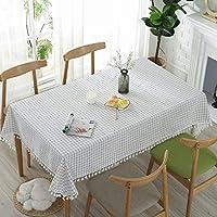 コットンテーブルクロスヨーロッパタイプタッセル防塵パープルカラーテーブルカバーホット販売市場動向現代のテーブルクロス