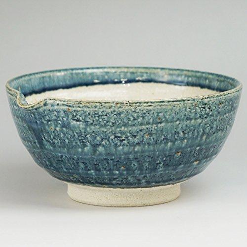 bloom(ブルーム)暮らしの達人『美濃焼こだわりスリ鉢藍釉スリ鉢大すり棒付(13287)』