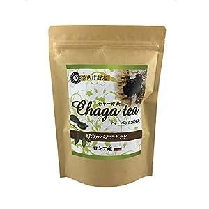 宮内庁御用達 チャガ茶 ティーパック 4g26包入 カバノアナタケ茶 チャーガ茶 ロシア産100% (1袋)