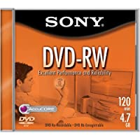 Sony DVD-RW 2X 4.7GB Rewriteable (Single) (Discontinued by Manufacturer) [並行輸入品]