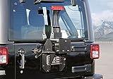 JAOS スペアタイヤブラケット JAOS リヤバンパーカバー装着車用 JKラングラー【B320901】