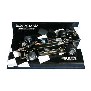PLANEX ミニチャンプス製 1978年製 ロータス79 ロニー・ピーターソン (Minichamps Scale Models 1:43 Lotus 79 R.Peterson 1978) LOT-SM-MC79P