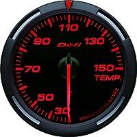 日本精機 Defi (デフィ) メーター【Racer Gauge】60φ 温度計 (レッド) DF11705