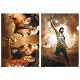 「バーフバリ 王の凱旋<完全版>」 クリアファイルセット-A [DVD]