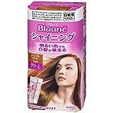 花王 ブローネ シャイニング ヘアカラークリーム 1MP メイプルブラウン 100g × 12個セット