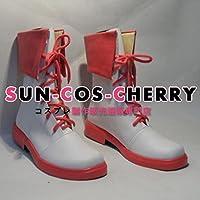 【サイズ選択可】コスプレ靴 ブーツ Z1-177 RWBY ルビー ノーラ・ヴァルキリー Nora Valkyrie 男性26.5CM