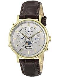 [ヴィヴィアンウエストウッド]Vivienne Westwood 腕時計 PORTLAND グレー文字盤 VV164CHBR メンズ 【並行輸入品】