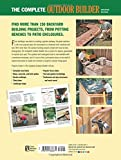 Black & Decker The Complete Outdoor Builder - Updated Edition: From Arbors to Walkways 150 DIY Projects (Black & Decker Complete Guide) 画像