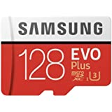 Samsung Evo Plus 2 MicroSd Card 100/90Mbs with Adapter, 128Gb
