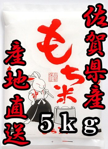 29年産 佐賀県産 ひよくもち 5kg 【ヒヨクモチ】【契約農家もち米】