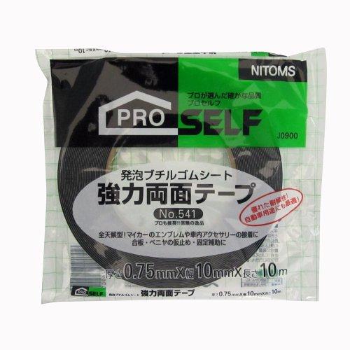 ニトムズ 強力両面テープ No.541 10mm×10m J0900