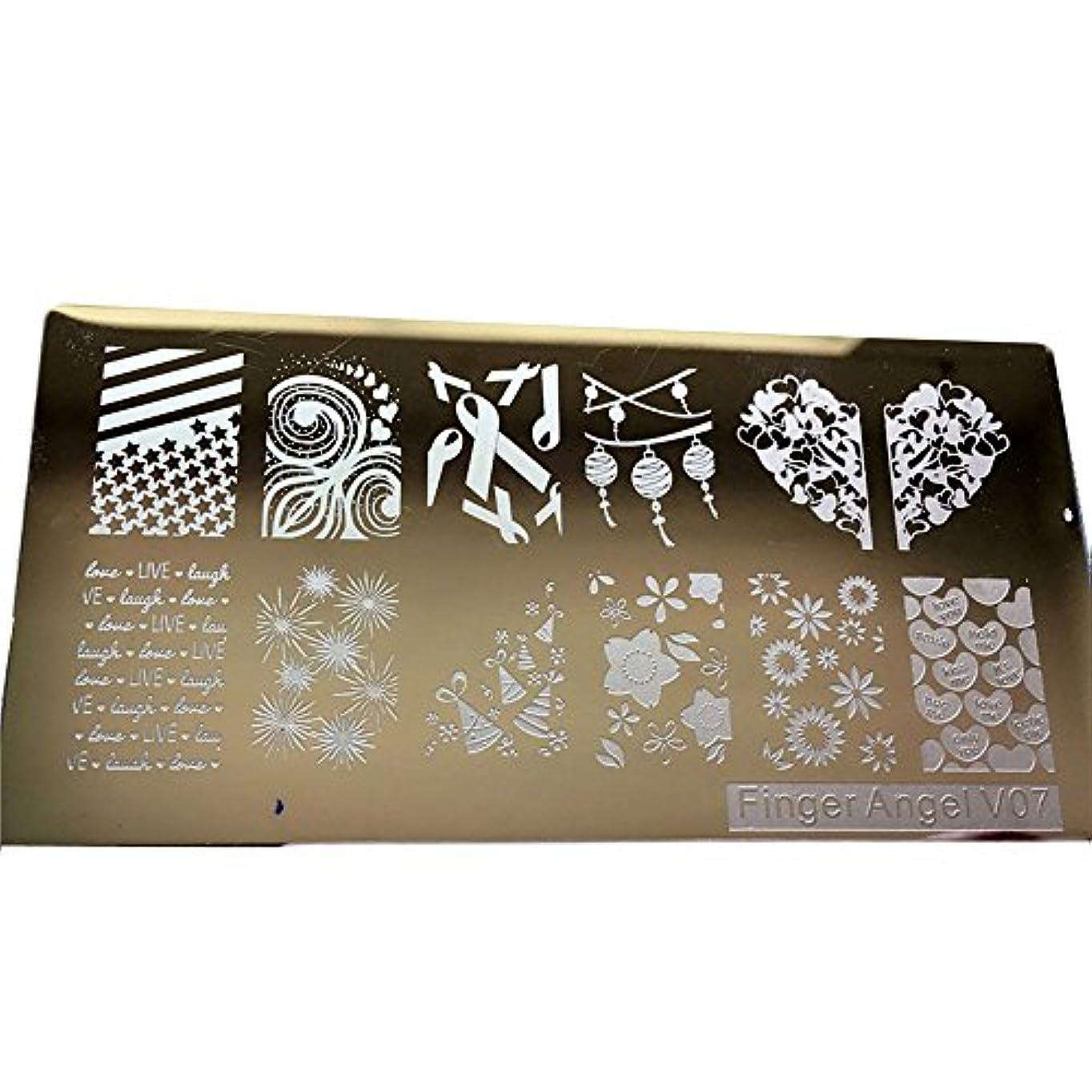 脊椎取得する減らす[ルテンズ] スタンピングプレートセット 花柄 ネイルプレート ネイルアートツール ネイルプレート ネイルスタンパー ネイルスタンプ スタンプネイル ネイルデザイン用品