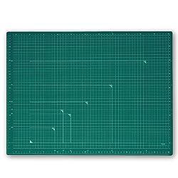 プラス カッターマット カッティングマット 両面 A2 450×600mm グリーン 48-586