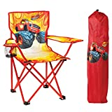 Nickelodeon Blaze and the Monster Machines Fold N ' Go Chair withストレージバッグ、レッド