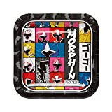 "Power Rangers Ninja Steel™ Square Plates, 7"", Party Favor"