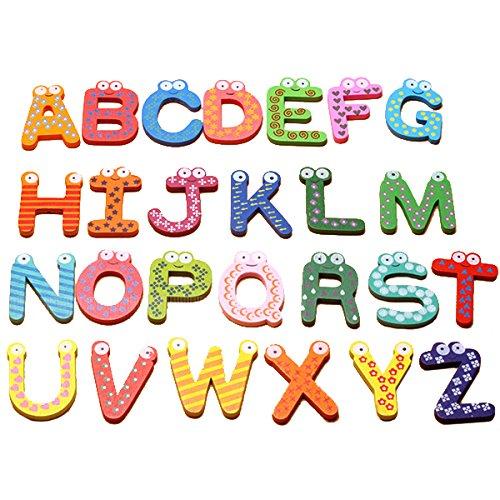 STARDUST ABCマグネット 26個セット アルファベット 英語 教育 知育おもちゃ ホワイトボード 黒板 冷蔵庫 キッズ ベビー キッチン SD-ABCMAG