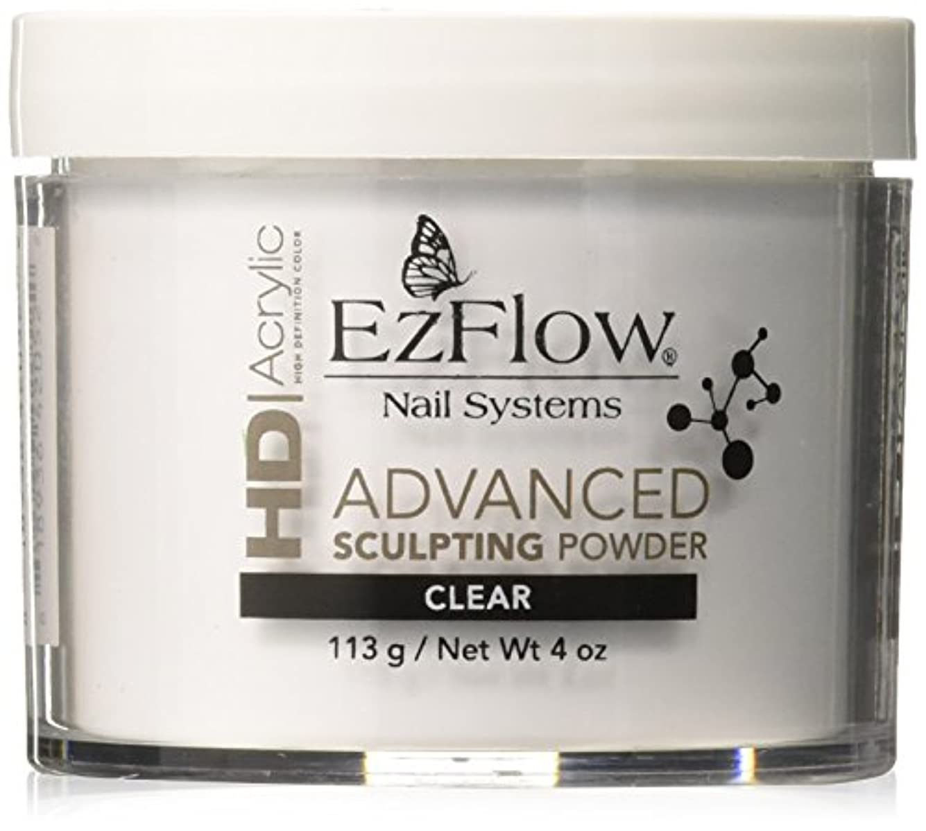 チャールズキージング実際の打撃EzFlow High Definition Powder - HD Clear Powder - 4oz / 113g